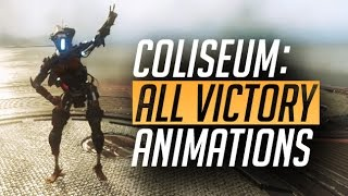 TITANFALL 2: All Coliseum Victory Animations   Colony Reborn Update