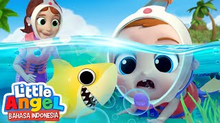 Serunya Lihat Ikan Cantik di Laut Biru! 🐠 Kartun Anak | Little Angel Bahasa Indonesia