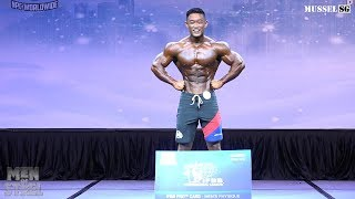 Scitec Men Of Steel 2019 - Men's Physique  Overall Champion  Is Isaac Tse!