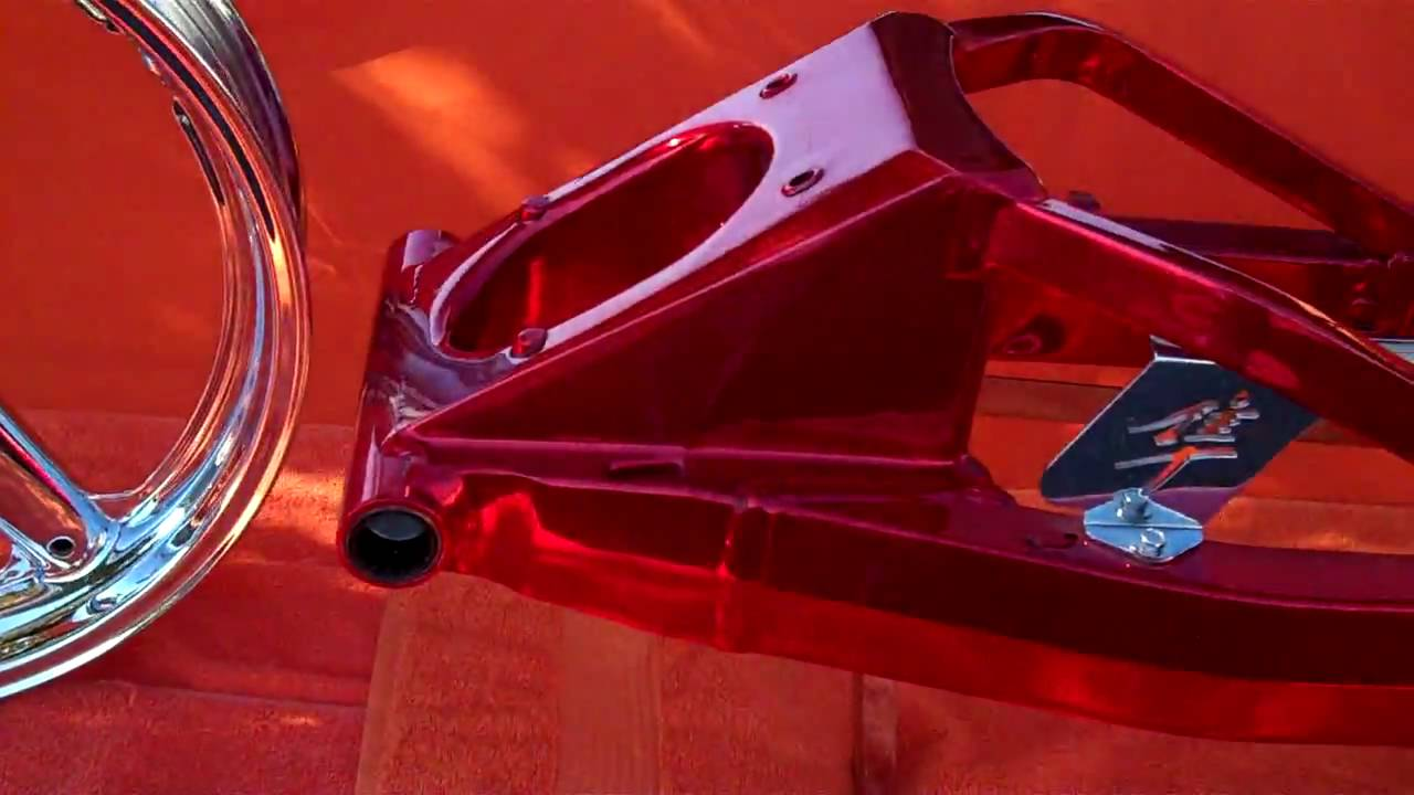 Candy Red Chrome Paint