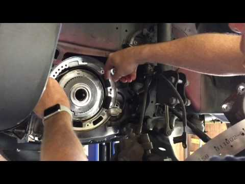 CD4E transmission 2 4 band replacement in vehicle Ford Escape, Mazda Tribute, Mercury Mariner