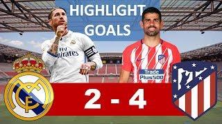 Download Video Real Madrid vs Atletico Madrid 2 - 4, Piala Super Eropa MP3 3GP MP4