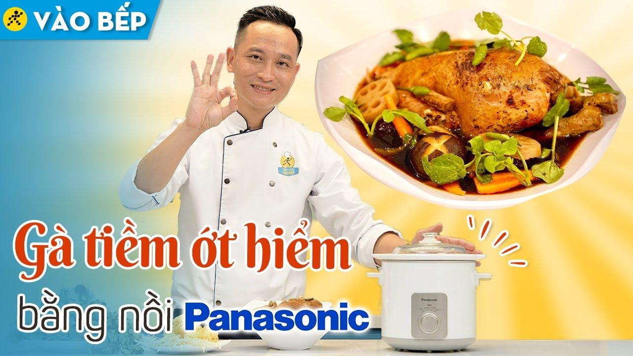 Cách làm Gà tiềm bằng nồi nấu chậm Panasonic mềm ngon, trọn dinh dưỡng • Vào bếp cùng Điện máy XANH