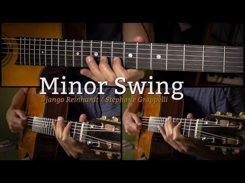 Minor Swing (gypsy jazz) + Free TAB