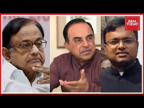 Chidambaram's Illegal Clearances Helped Karti, Says 'Happy' Swamy Post CBI Raid
