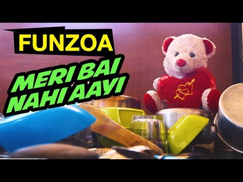 MERI BAI NAHI AAYI | Funny Hindi Song On Maid Not Turning Up | Mimi Teddy | Funzoa Funny Videos