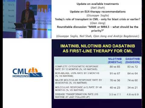 CML Horizons 2014: Update on available CML treatments (Neil Shah)