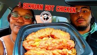 New Panda Express's Sichuan Hot Chicken Food Review