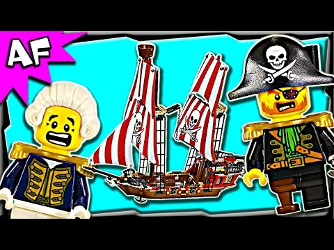 Lego Pirates BRICK BOUNTY Ship 70413 Stop Motion Build Review