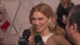 """Léa Seydoux : """"Cette année je suis passée de criminelle à gardienne de prison"""" - Oscars 2020"""