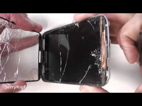 Galaxy S4 JUST THE GLASS Screen Repair BEST Video