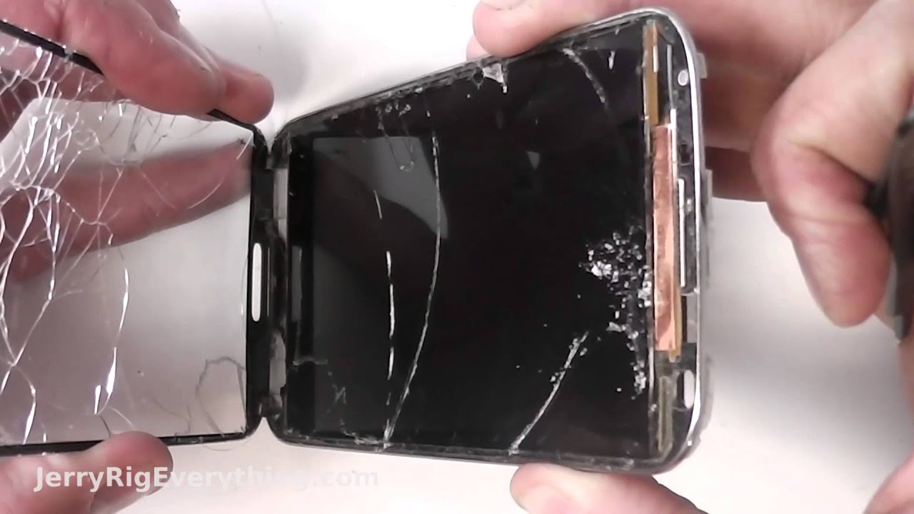Display Glas Galaxy S4 Just The Glass Screen Repair Best Video
