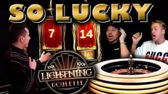 INSANE LUCK on Lightning Roulette