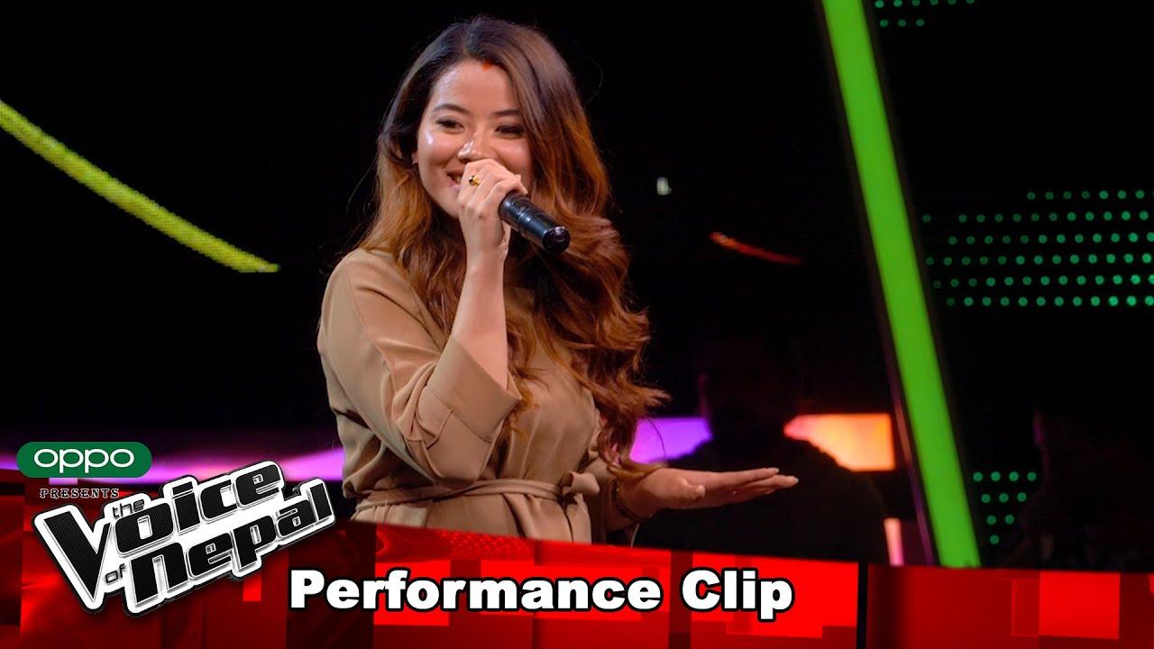 "Download Sanju Moktan ""Mayalu""  Blind Audition Performance   The Voice of Nepal S3"