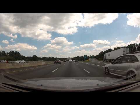 Cruising I-83 South and the outer loop of I-695 Beltway in Baltimore, Maryland