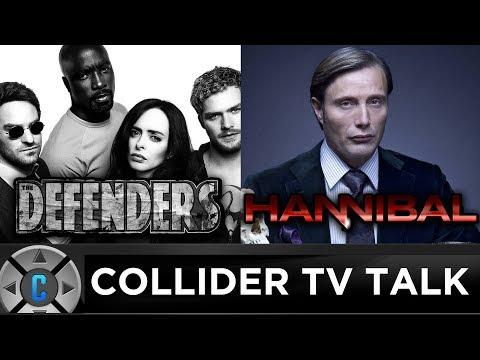 Final Defenders Trailer, Hannibal Coming Back? - Collider TV Talk