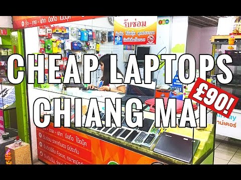 THAILAND TRAVEL: Buying A Cheap Laptop In Chiang Mai | £90