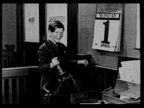 "Charley Chase in ""APRIL FOOL"" (1924) musical score by Ben Model"