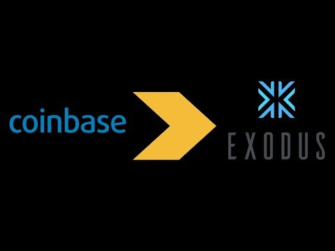 How to transfer funds from Coinbase to Exodus Wallet