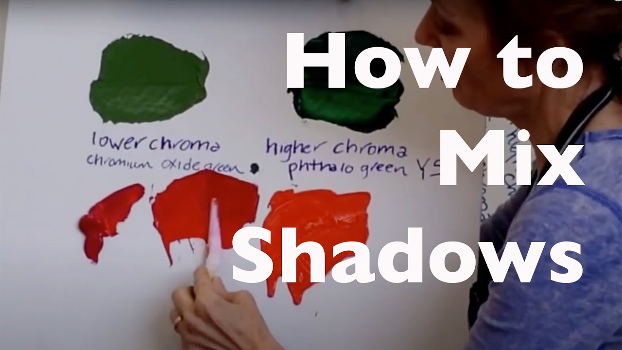 How To Mix Shadows Take A Bright Color And Tone It Down