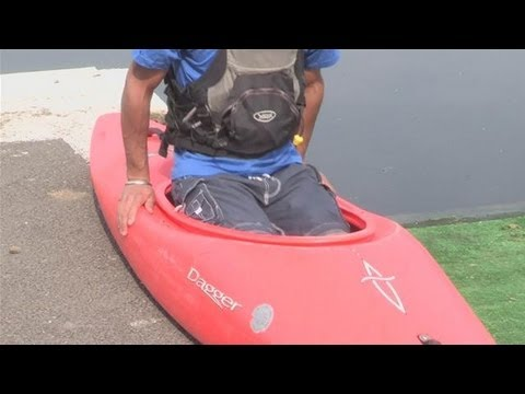 How To Position Yourself Correctly In A Kayak