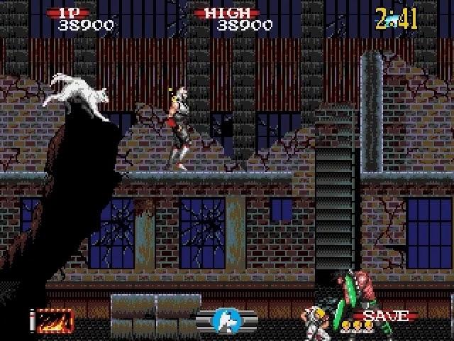 Jouez à Shadow Dancer sur Sega Megadrive/Genesis