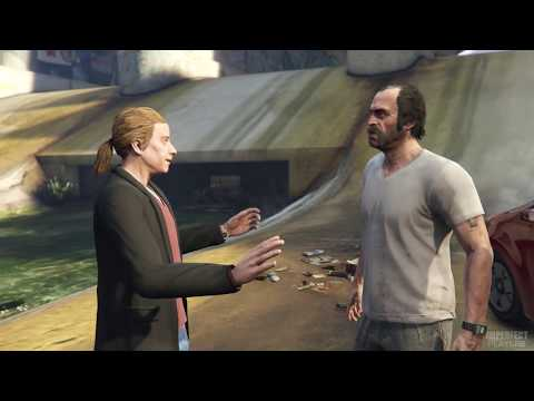 GTA 5 PS4 Gameplay Walkthrough Part 15 (First Person)