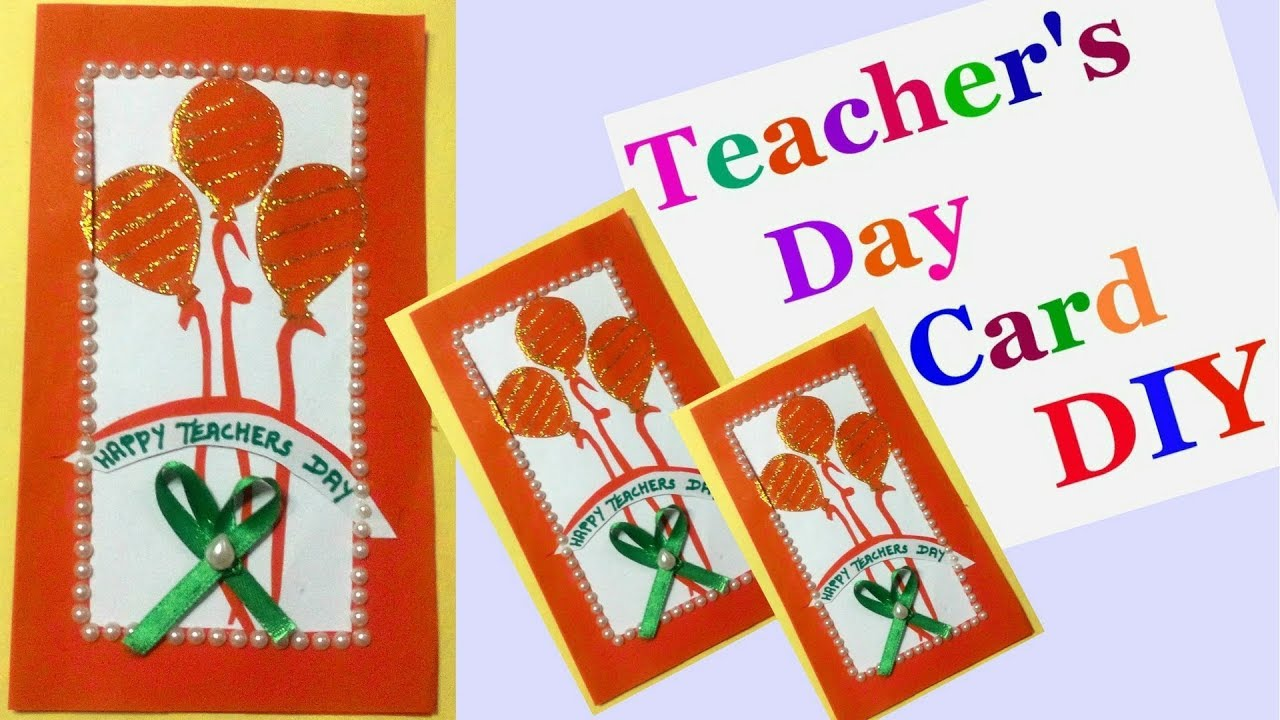 Teachers day cards making idea for kids handmade cards for teachers day cards making idea for kids handmade cards for teachers day greeting cards diy m4hsunfo Image collections