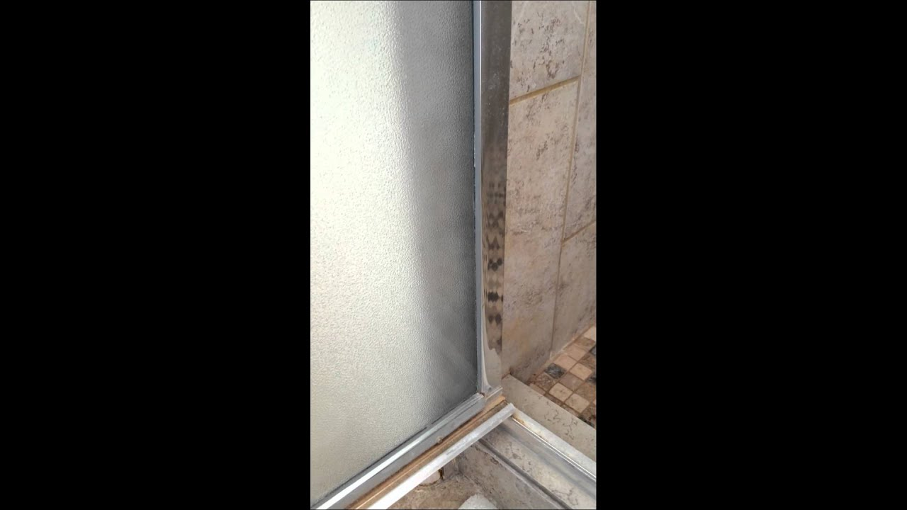 Norwex Cleaning Paste On A Glass Shower Door Youtube