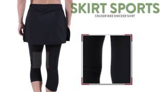 Skirt Sports Cruiser Bike Knicker Skirt - Built-In Chamois (For Women)