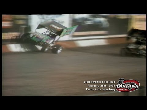 #ThrowbackThursday: World of Outlaws Sprint Cars Perris Auto Speedway February 28th, 2004