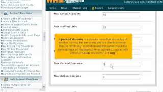 How to create a new cPanel account in WHM - WHM Tutorials
