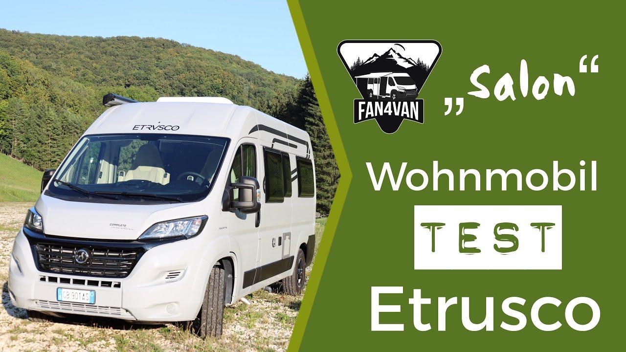 Wohnmobil Test - Der neue Kastenwagen von Etrusco