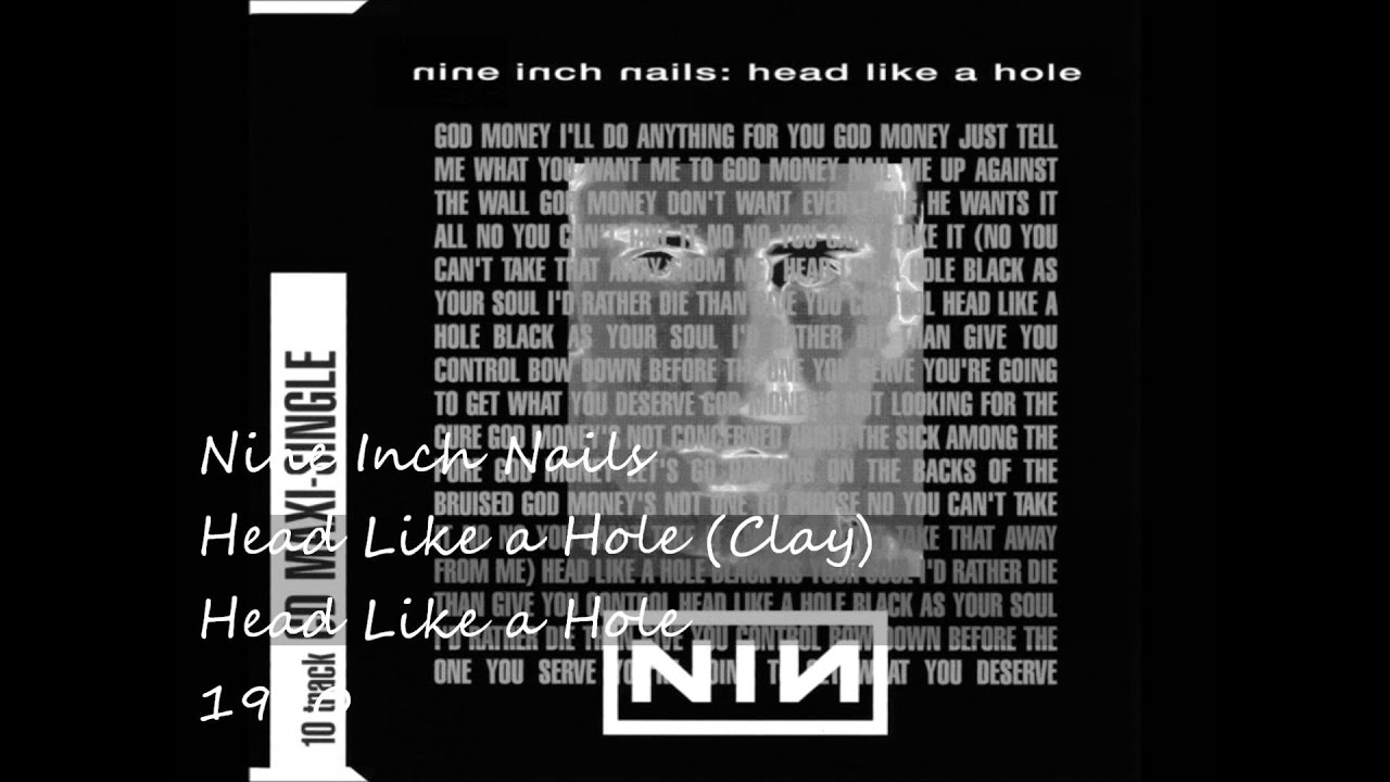 Nine Inch Nails - Head Like a Hole (Clay) - YouTube