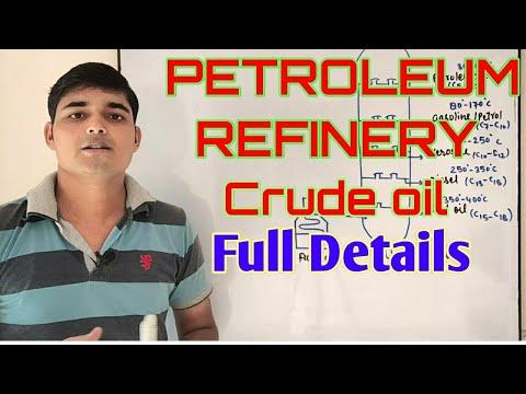 Petroleum refinery , Crude oil refining || Chemical Pedia