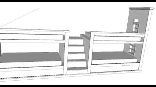 Vcc Designs-trevor's Built In Bunkbeds