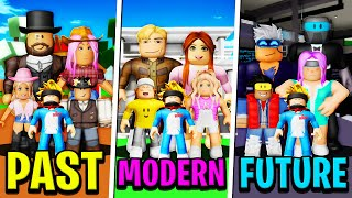 OLD FAMILY vs MODERN FAMILY vs FUTURE FAMILY in Roblox BROOKHAVEN RP!!