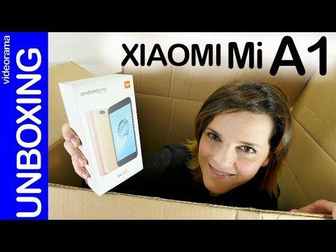 Xiaomi Mi A1 unboxing y preview -la esencia Android low cost-
