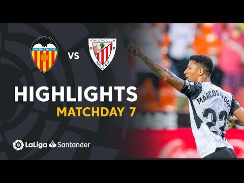 Valencia Ath. Bilbao Goals And Highlights