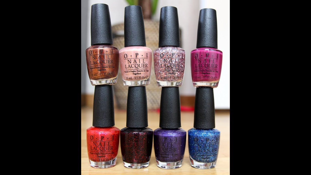 OPI - Mariah Carey collection swatch video - YouTube