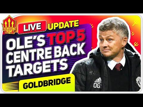 Solskjaer's TOP 5 CB Transfer Targets! Man Utd Transfer News