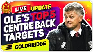 Solskjaer's TOP 5 CB Transfer Targets! Man Utd Transfer News