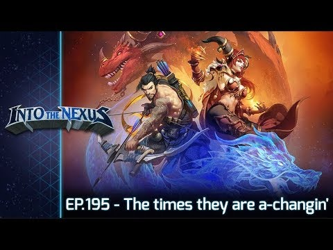 """#195 - Into the Nexus: """"The times they are a-changin''"""""""