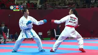 Full Match Karate Putri  Vietnam Vs  Ndonesia  Asian Games 2018