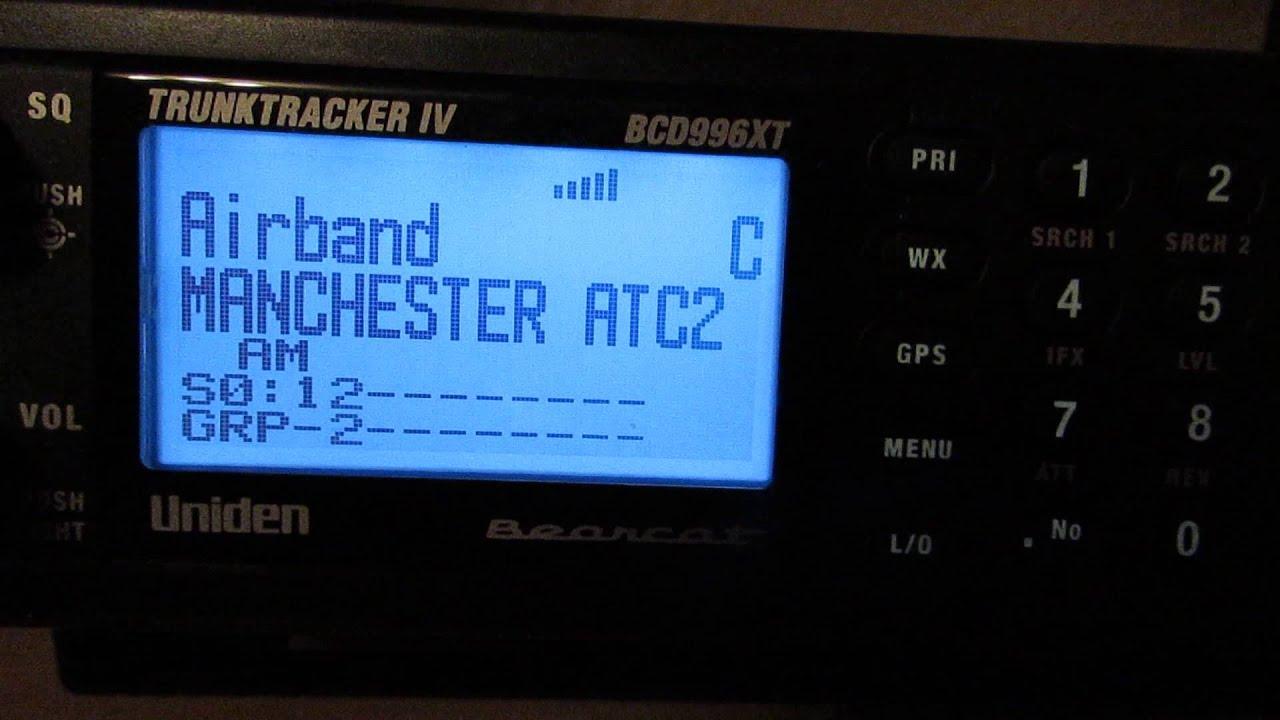 Uniden BCD996XT Analogue & Digital Scanner - VHF UK Airband