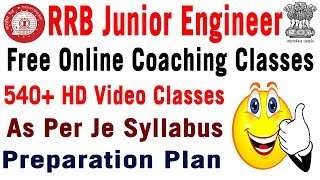 RRB JE Online Coaching Classes in telugu Free Online Video Tests Study Material CBT Exam Preparation