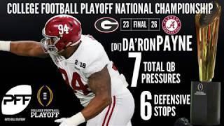 Da'Ron Payne Scouting Report | PFF NFL Draft