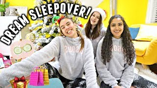 My Dream Sleepover! Matching pyjamas, shopping, face masks! | Vlogmas day 21