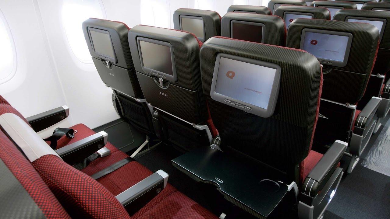 Qf30 Hkg Mel Qantas Economy Class Hong Kong To Melbourne