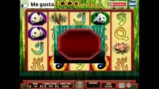 100 PANDAS CASINO, gane $100000 en 9 min